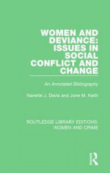 Omslag - Women and Deviance: Issues in Social Conflict and Change