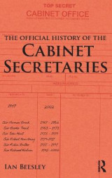 Omslag - The Official History of the Cabinet Secretaries