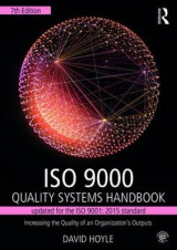 Omslag - ISO 9000 Quality Systems Handbook-Updated for the ISO 9001: 2015 Standard