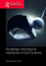 Omslag - Routledge International Handbook of Golf Science