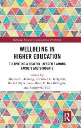 Omslag - Wellbeing in Higher Education
