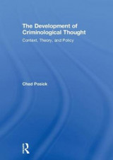 Omslag - The Development of Criminological Thought