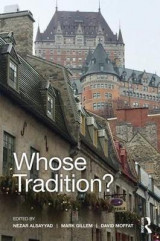 Omslag - Whose Tradition?