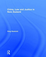 Omslag - Crime, Law and Justice in New Zealand