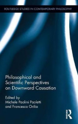 Omslag - Philosophical and Scientific Perspectives on Downward Causation