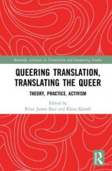 Omslag - Queering Translation, Translating the Queer