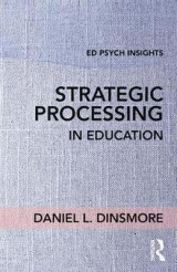 Omslag - Strategic Processing in Education