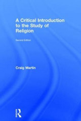 Omslag - A Critical Introduction to the Study of Religion