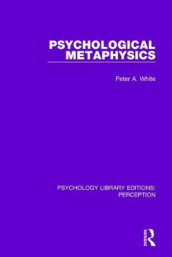 Psychological Metaphysics av Peter A. White (Innbundet)