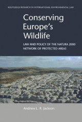 Omslag - Conserving Europe's Wildlife