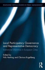 Omslag - Local Participatory Governance and Representative Democracy