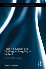 Omslag - Teacher Education and Teaching as Struggling for the Soul