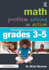Omslag - Math Problem Solving in Action: Grades 3-5