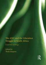 Omslag - The ANC and the Liberation Struggle in South Africa