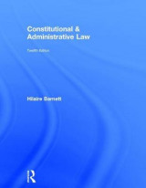 Omslag - Constitutional & Administrative Law
