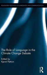 Omslag - The Role of Language in the Climate Change Debate