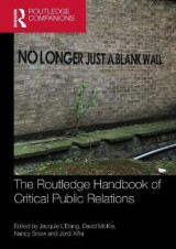 Omslag - The Routledge Handbook of Critical Public Relations