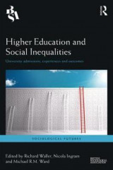 Omslag - Higher Education and Social Inequalities