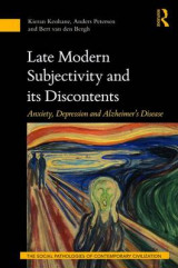 Omslag - Late Modern Subjectivity and its Discontents