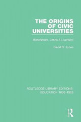 Omslag - The Origins of Civic Universities