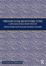 Omslag - Phraseology in Legal and Institutional Settings