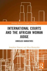 Omslag - International Courts and the African Woman Judge