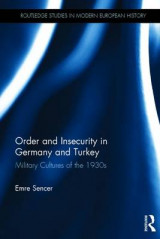 Omslag - Order and Insecurity in Germany and Turkey