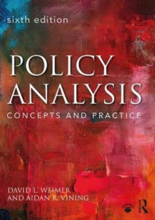 Policy Analysis av David L. Weimer og Aidan R. Vining (Heftet)