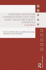 Omslag - Chinese-Japanese Competition and the East Asian Security Complex