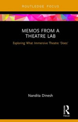 Omslag - Memos from a Theatre Lab