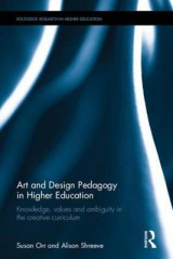 Omslag - Art and Design Pedagogy in Higher Education