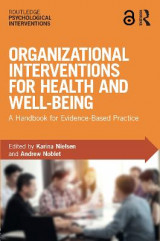 Omslag - Organizational Interventions for Health and Well-being