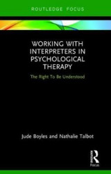 Omslag - Working with Interpreters in Psychological Therapy