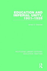 Omslag - Education and Imperial Unity, 1901-1926