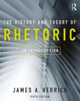 Omslag - The History and Theory of Rhetoric