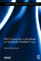 Omslag - NGO Discourses in the Debate on Genetically Modified Crops