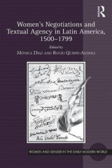 Omslag - Women's Negotiations and Textual Agency in Latin America, 1500-1799