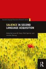 Omslag - Salience in Second Language Acquisition