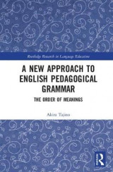 Omslag - A New Approach to English Pedagogical Grammar