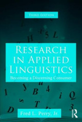 Omslag - Research in Applied Linguistics