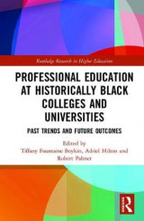 Omslag - Professional Education at Historically Black Colleges and Universities