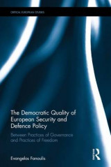Omslag - The Democratic Quality of European Security and Defence Policy