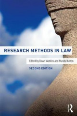 Omslag - Research Methods in Law