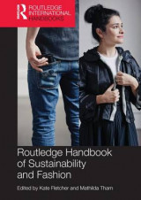 Omslag - Routledge Handbook of Sustainability and Fashion