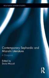 Omslag - Contemporary Sephardic and Mizrahi Literature
