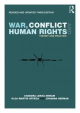 Omslag - War, Conflict and Human Rights