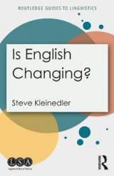 Omslag - Is English Changing?