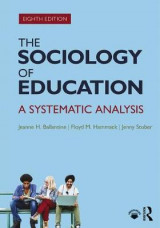 Omslag - The Sociology of Education