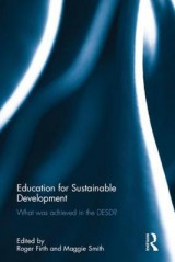 Omslag - Education for Sustainable Development