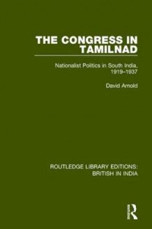 The Congress in Tamilnad av David Arnold (Heftet)